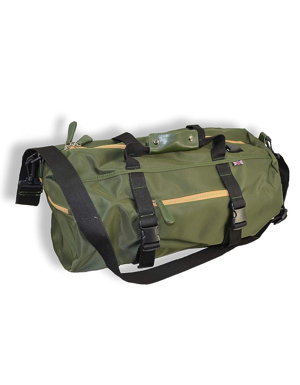 Olive English Laundry Sport Duffel Bag