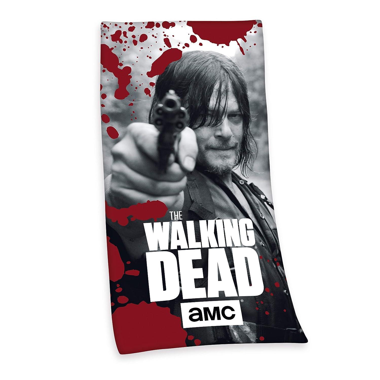 Cotton 150 x 75 cm Multicolore Herding The Walking Dead Telo Doccia