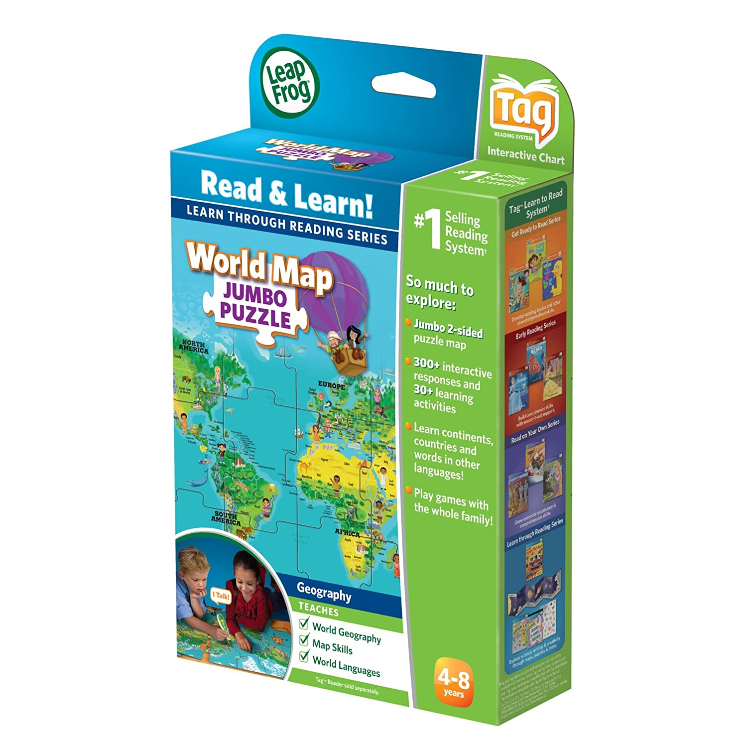 Leapfrog leapreader book interactive world map puzzle works with leapfrog leapreader book interactive world map puzzle works with tag jigsaw puzzles amazon canada gumiabroncs Image collections