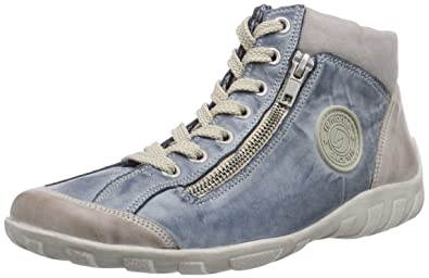 new arrival 4c3c4 5eab6 Remonte R3474 Damen Hohe Sneakers