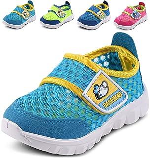 1e51574867887 Amazon.com | LONSOEN Baby Boys and Girls Anti-Slip Walking Shoes ...