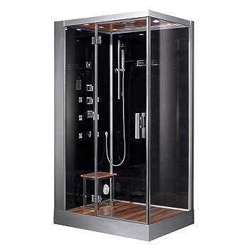 Ariel-Platinum-DZ961F8-BLK-L Steam Shower