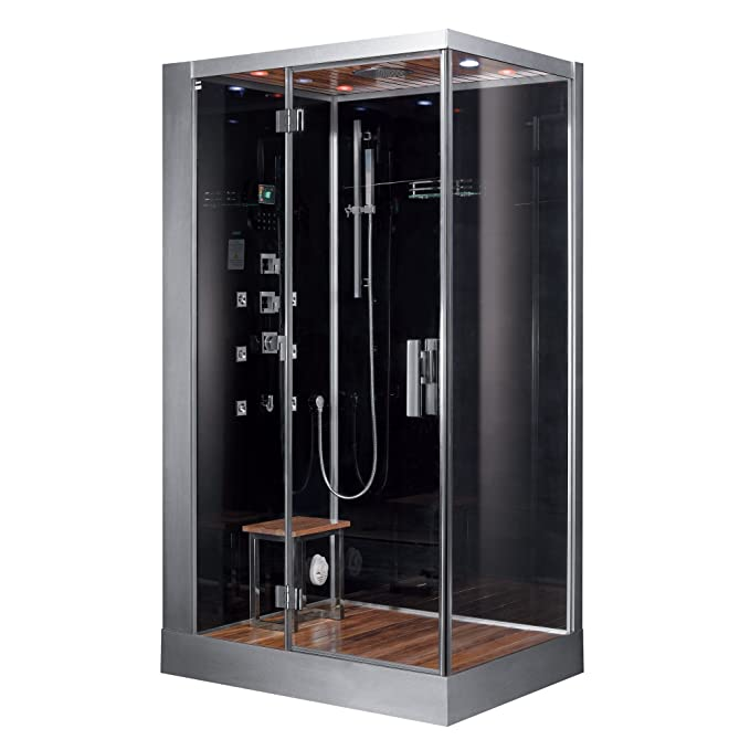 Best Steam Shower: Ariel Platinum dz959f8-Blk-L Steam Shower