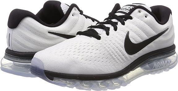 Nike Air MAX 2017, Zapatillas de Running para Hombre, Blanco (Weiß ...