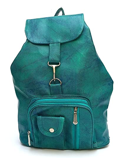 93226cd39 Bizarre Vogue Stylish College Bags Backpacks For Women   Girls (Sea Green