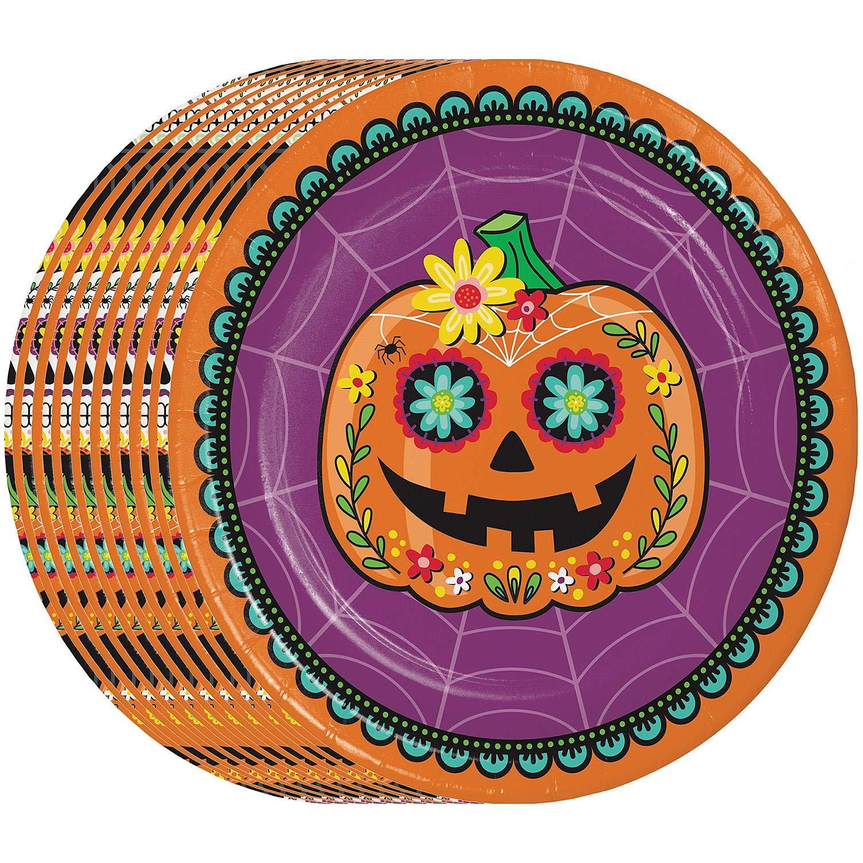 Members Mark 10.25 Inch Diameter Halloween Plates, 90 Count by Members Mark