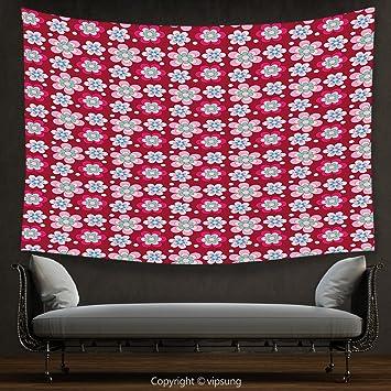 Amazon.com: House Decor Tapestry Floral Nature Beauty Flower Petals ...