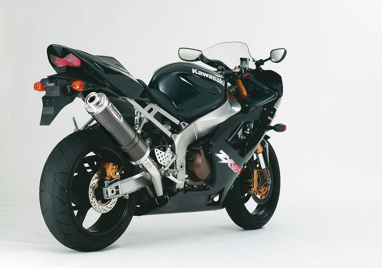 ZX600G,H,J|ZX636A Hurric Auspuff Ersatzd/ämpfer Supersport EG//BE Schwarz Matt Kawasaki ZX-6 R 98-2002