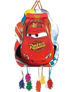 ALMACENESADAN 0842, Piñata Perfil Disney Cars,, Fiestas y ...