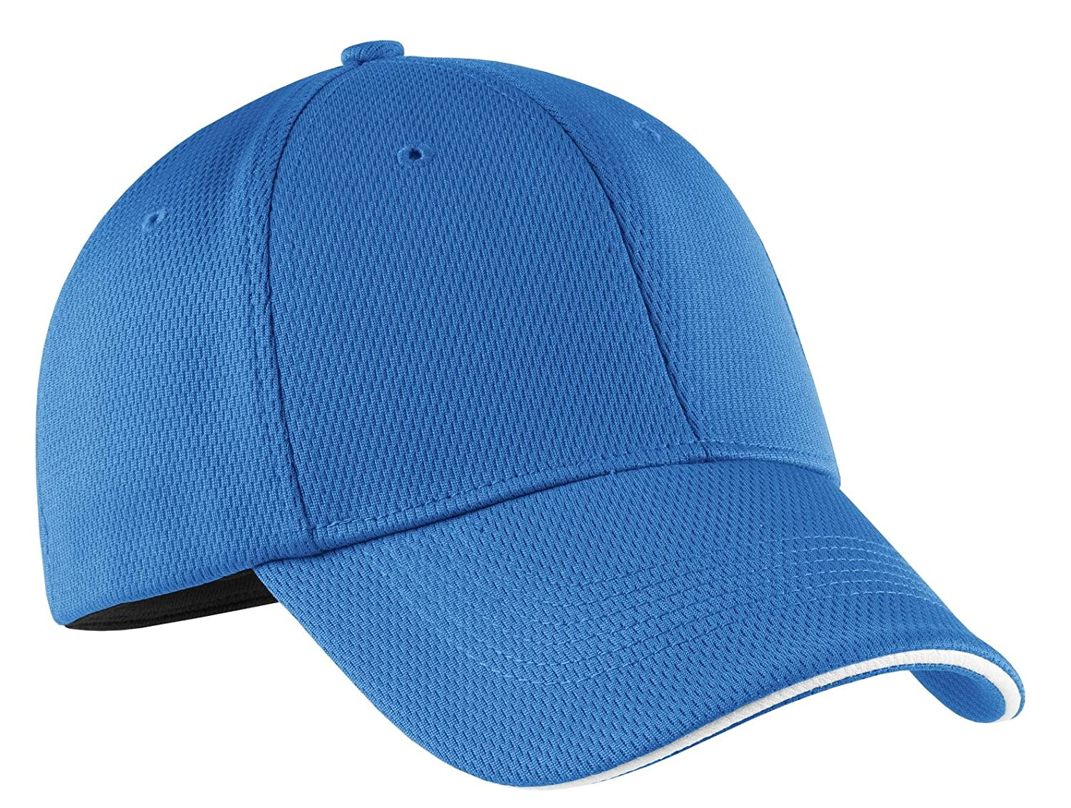 90eba8a9e Nike Golf Dri-Fit Mesh Swoosh Flex Sandwich Cap Pacific Blue 333115 L/XL