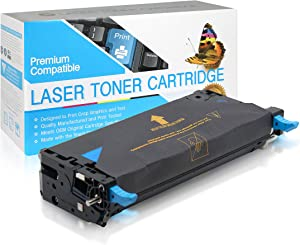 SuppliesOutlet Compatible Toner Cartridge Replacement for Dell 3110cn / 3115cn / 310-8094/310-8397 / PF029 / XG722 / 310-8095/310-8398 / RF012 / XG726 (High Yield Cyan,1 Pack)