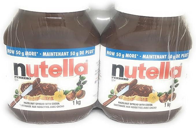 Nutella Hazelnut Spread 2 Kilograms Amazon Ca Grocery