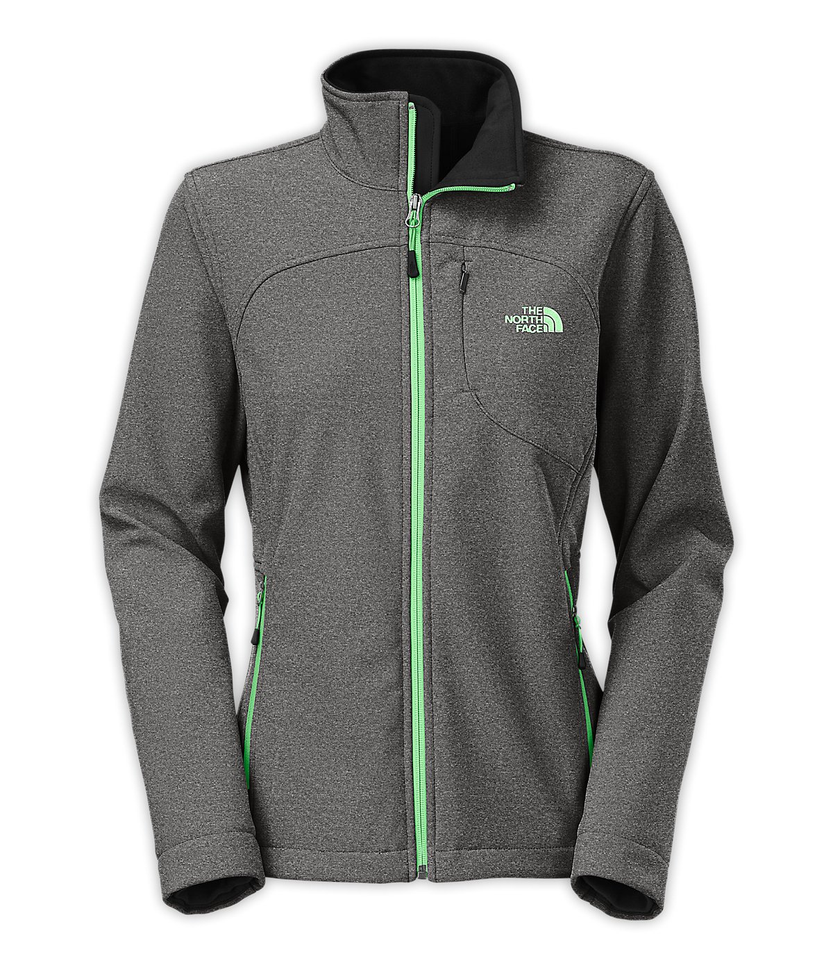The North Face Women's Apex Bionic Jacket TNF Black Heather Size Small by The North Face