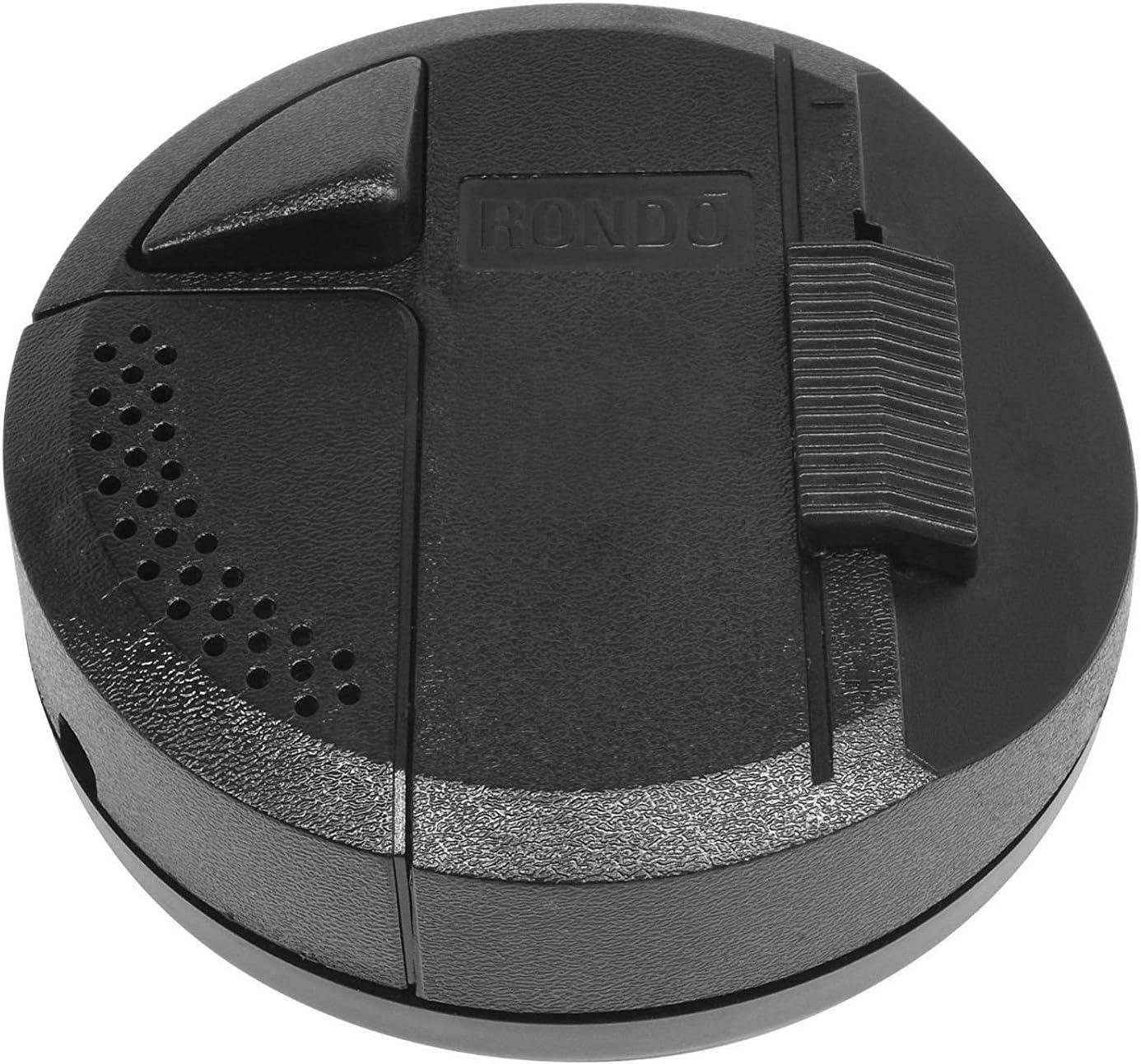 rq9706 Rondo /'4 F Noir commande Interrupteur variateur /à curseur /électronique Corde Relco