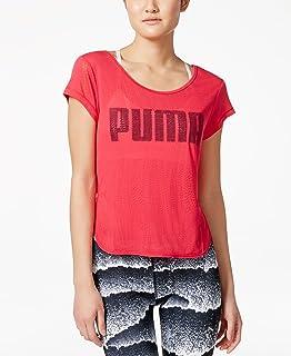 Puma Clash Bubble Women's Running T-Shirt SS15 Womens Black