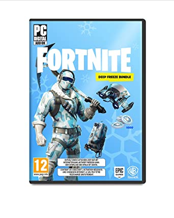 Fortnite Deep Freeze Bundle Code In The Box Pc Amazon De Games