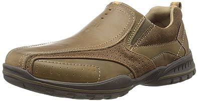 Skechers Vorlez - Conven, Men's Low-Top Sneakers, Brown (Desert Dsch)