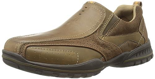 Skechers Diameter Heisman - Zapatillas para hombre, color marrón, talla 45.5