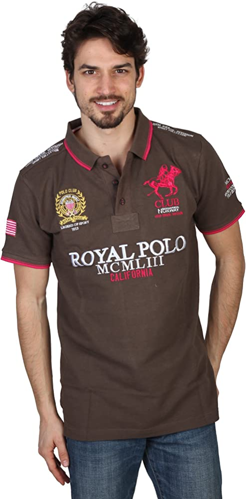 Polo GEOGRAPHICAL NORWAY Homme KriptonB vert - -: Amazon.es: Ropa ...
