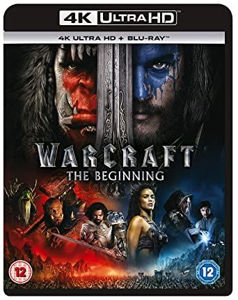 Amazon Com Warcraft The Beginning 4k Uhd Blu Ray Blu Ray Digital Download Travis Fimmel Toby Kebbell Ben Foster Paula Patton Dominic Cooper Ben Schnetzer Robert Kazinsky Clancy Brown Daniel Wu Ruth Negga