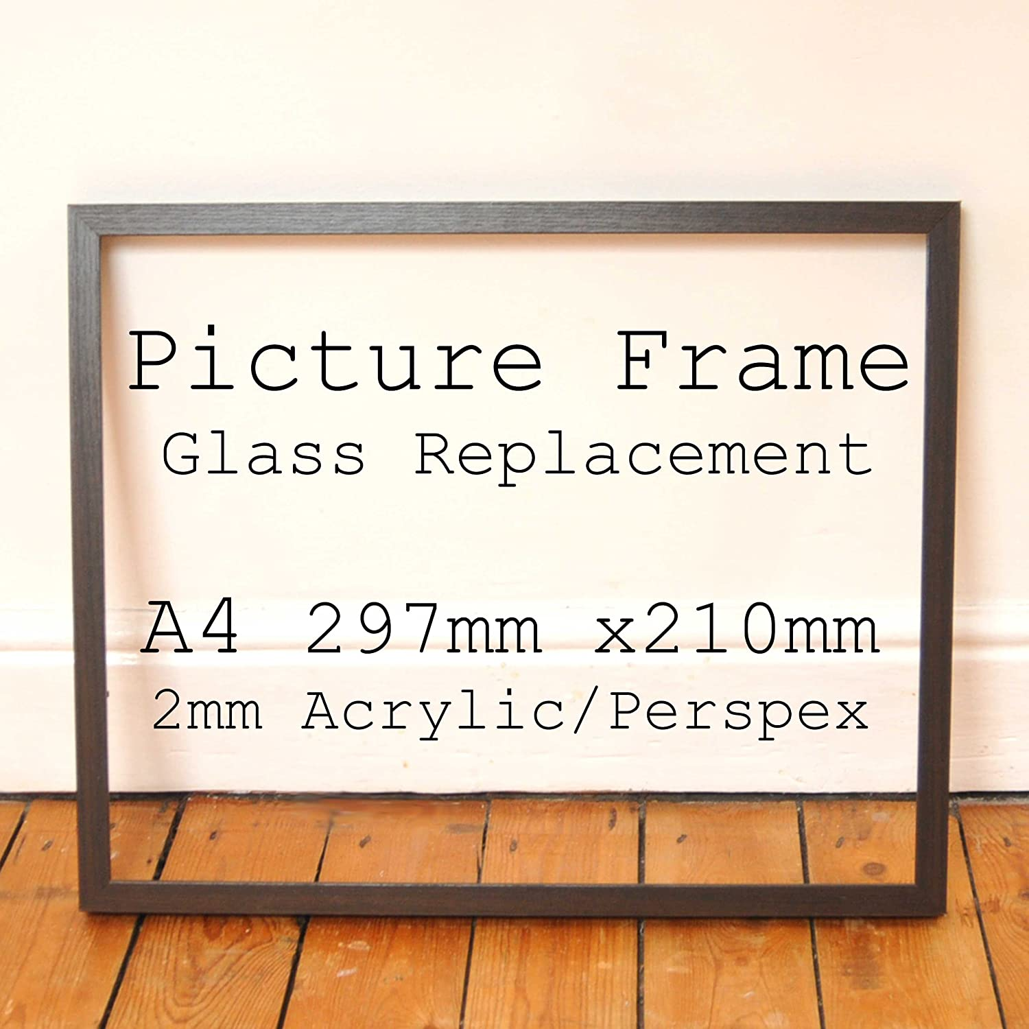 Clear 2mm Acrylic Glazing Replacement for Broken Picture Photo Frame ...