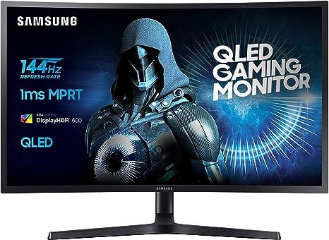 Samsung C32HG70 - Monitor de 81,28 cm (32, pantalla LCD/LED, HDMI, DP, Piv, tiempo de respuesta de 1 ms, 2560 x 1440 píxeles), color negro: Amazon.es: Electrónica