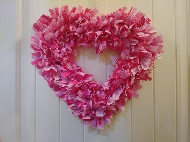 Amazon Com Valentines Day Front Door Wreath Valentine Door Decor