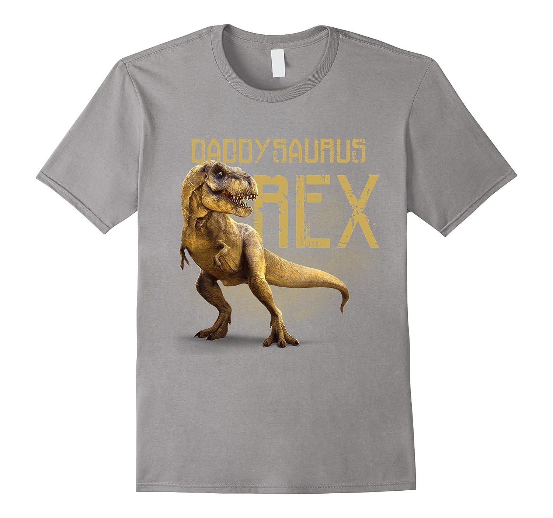2558aa60 Mens Daddysaurus Rex Funny Dinosaur Dino Gift for Dad T-Shirt-RT ...