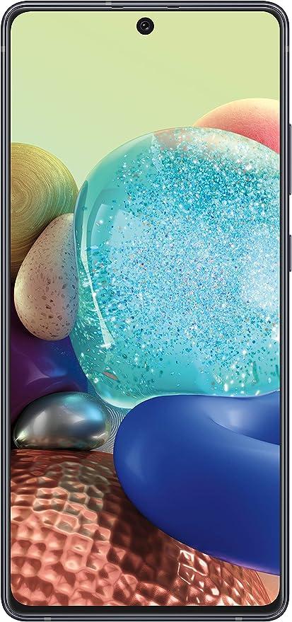 "Amazon.com: Samsung Galaxy A71 5G Unlocked , 6.7"" AMOLED Screen,128GB of Storage, Long Lasting Battery, Single SIM, 2020 Model, US Version, Black"