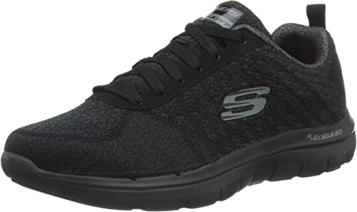 Skechers Flex Advantage 2.0 52180 Herren Trainingsschuhe, Grau(CharcoalBlue), 39 EU
