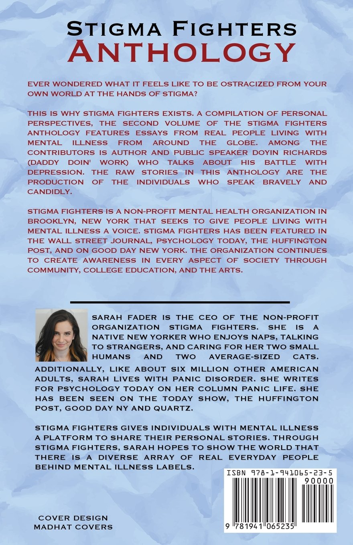 The Stigma Fighters Anthology Volume 2 Sarah Fader 9781941065235