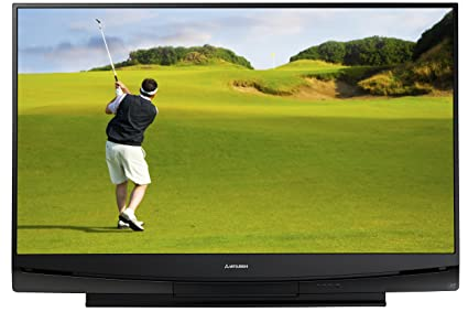 amazon com mitsubishi wd 60735 60 inch 1080p dlp hdtv 2008 model rh amazon com
