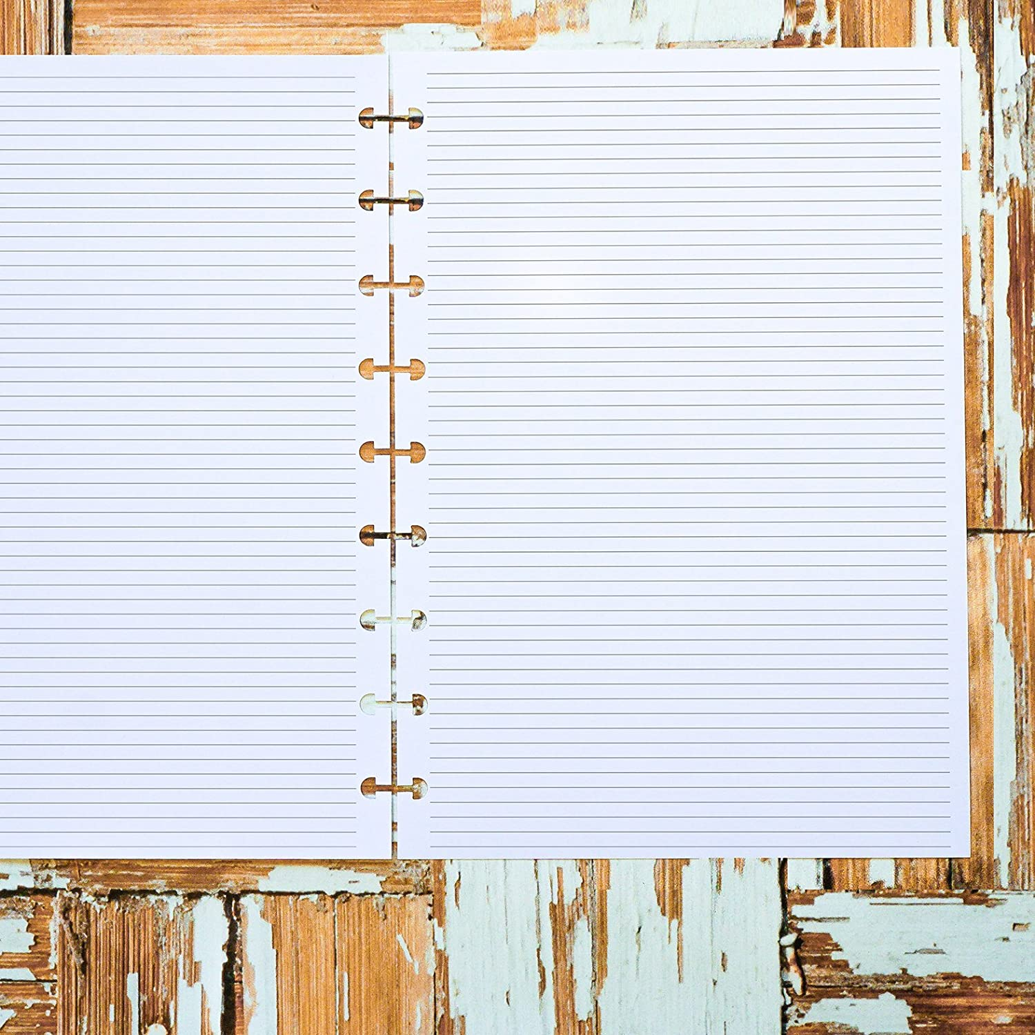 Lined Note Pages Planner Inserts for use with Happy Planner Classic