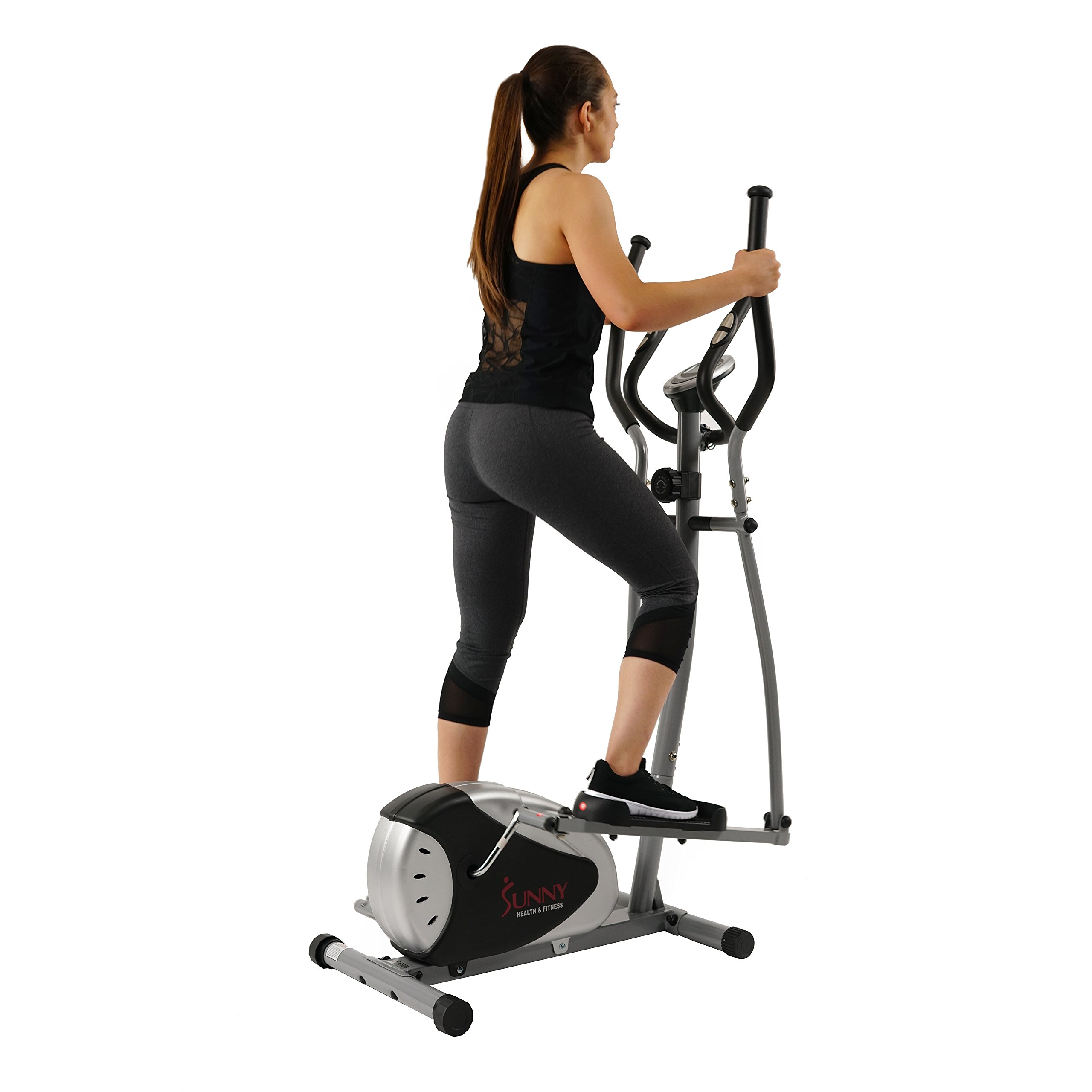 Magnetic Elliptical Machine Trainer by Sunny Health & Fitness - SF-E905 by Sunny Health & Fitness (Image #2)