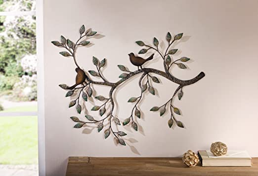 """8 opinioni per Decorazione da parete """"ramo con uccelli"""""""