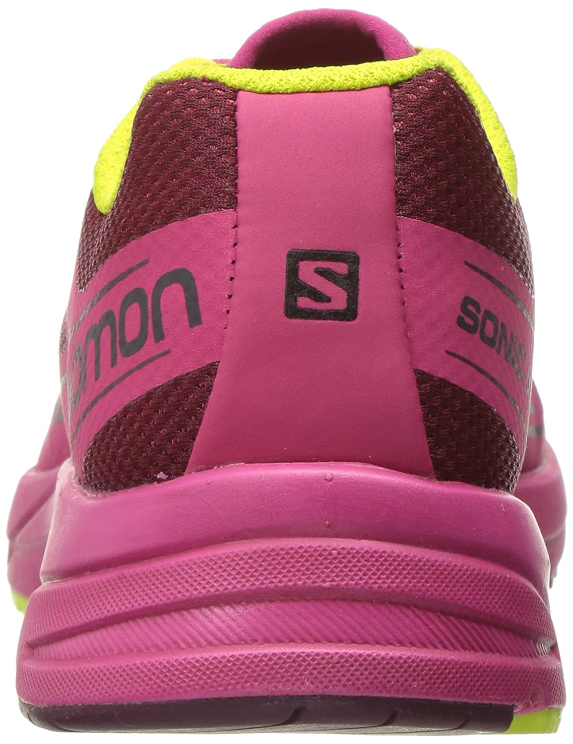 Salomon 6 Women's Sonic Aero W L39349700 Trail Runner B01HD1WRCC 6 Salomon B(M) US|Tibetan Red/Sangria/Lime Punch. 6e2f97