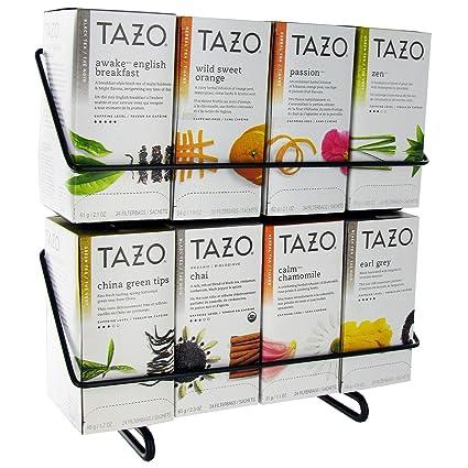 Tazo – Bolsa de té de Tazo con expositor de 24 ct – 8 cajas ...