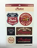 Indian Motorcycle Graphic Sticker Set