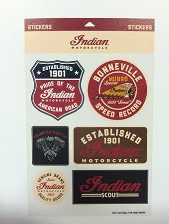 Indian Motorcycle Sticker Set