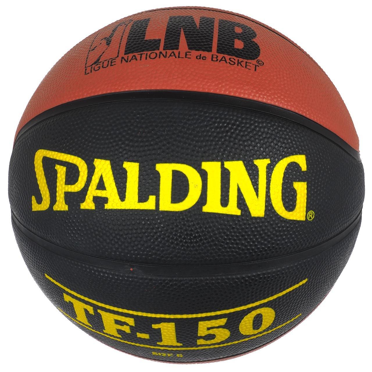 Spalding - TF150 T6 balón Basket - Balón de baloncesto de - marrón ...
