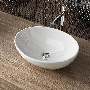Waschbecken24 Design Keramik Aufsatzwaschbecken Waschschale