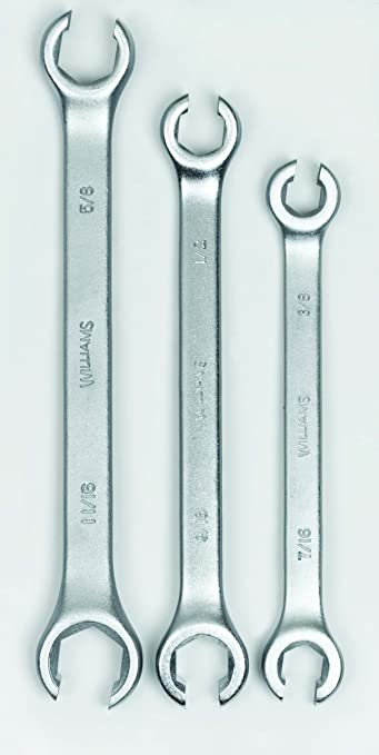 Williams Double Head Flare Nut Wrenchs 6 points SAE and Metric