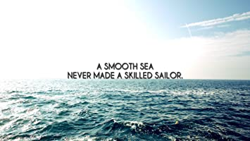 Athahdesigns Sea Waves Quotes Sailor Wallposter Amazonin Home