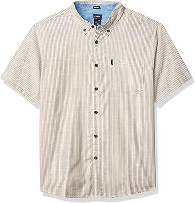 Dickies Short Sleeve Flex Chambray Shirt Camisa Abotonada para Hombre: Amazon.es: Ropa y accesorios