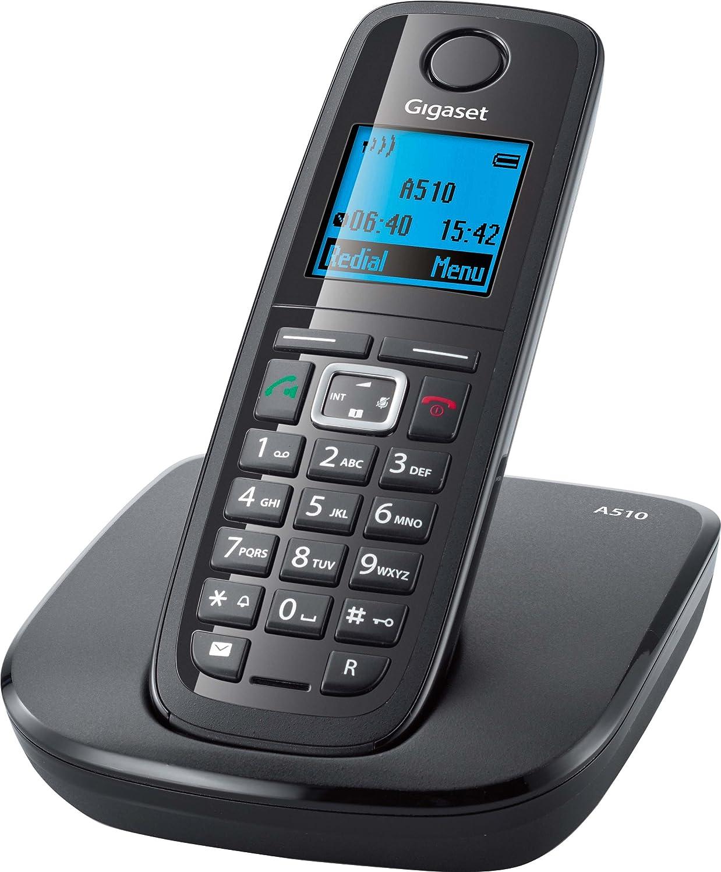 Gigaset A510 Teléfono inalámbrico (DECT, manos libres Funcionalidad, bajo de la radiación): Amazon.es: Electrónica