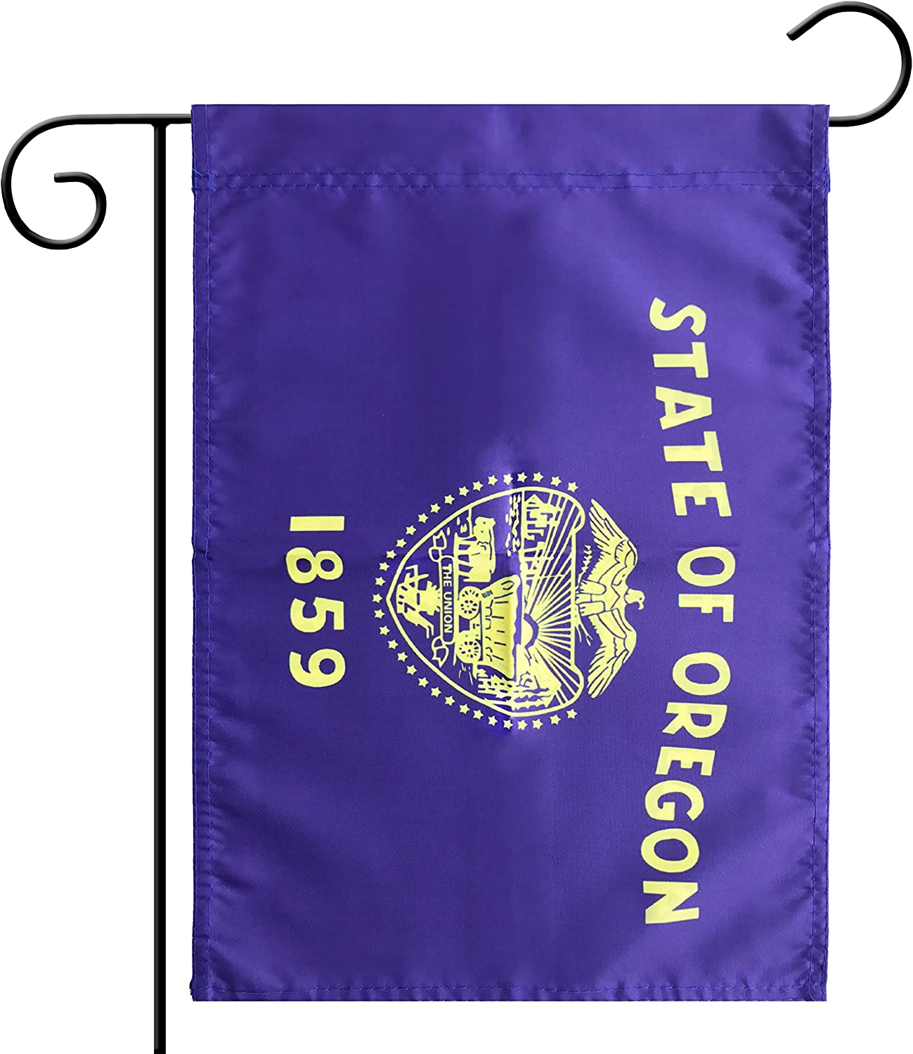 Flag Garden Oregon State Garden, Garden Decoration, Indoor and Outdoor, Celebration Parade, Oregon State Party Event Decorations,Double-Sided.