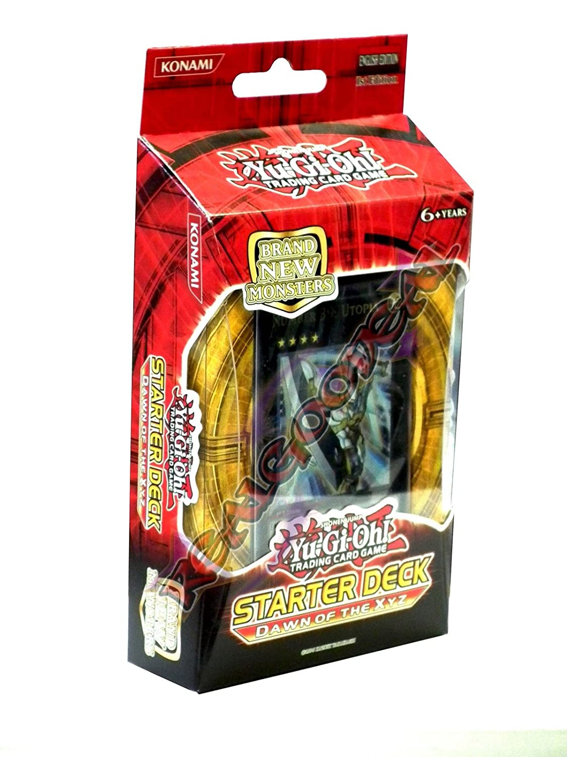Amazon: Yugioh Cards Zexal  Structure Deck  Dawn Of The: Toys &  Games