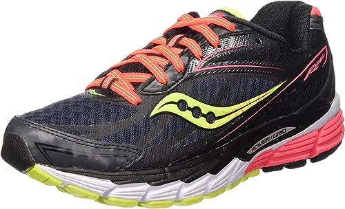 Saucony Ride 8 W - Zapatillas de running Mujer, Negro (Midnight
