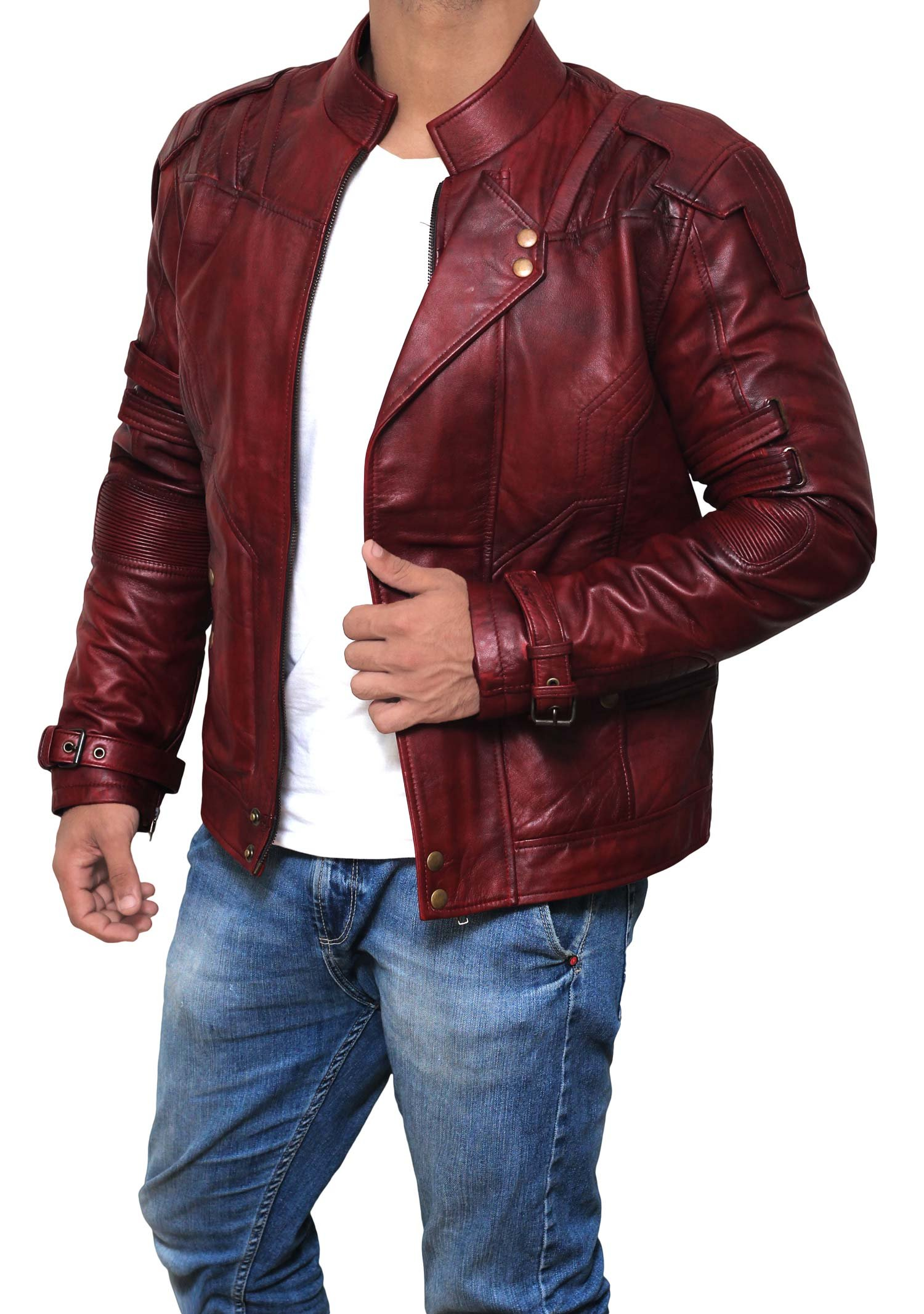Galaxy Real Leather Jacket ►BEST SELLER◄ M by fjackets (Image #2)