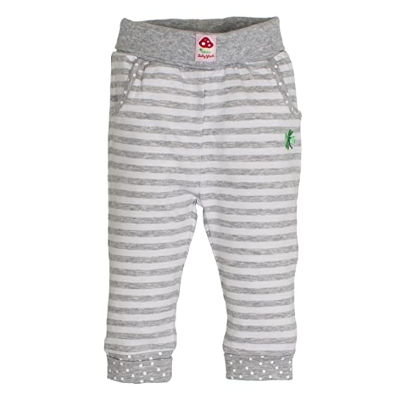 M/ädchen Hose NB Trousers Schatz Stripe SALT AND PEPPER Baby